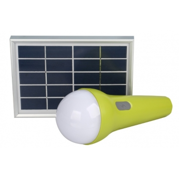 L2+ Multifunctional Solar Light with Phone Charging Function Green 2.5W