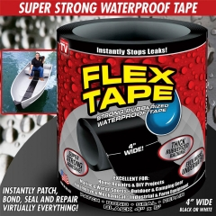 Instant & Utility Repair Tape Strong Flex Self Fusing Wire Pipe Repair Waterproof Sealing Adhesive