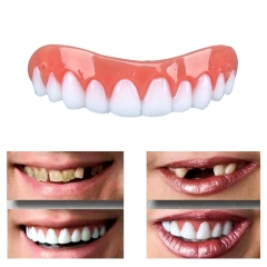 Instant Perfect Smile Veneers Silicone False Tooth Cover Dental Denture show as picture
