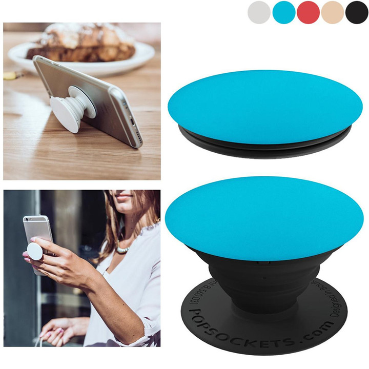 Universal Expanding Stand and Grip Car Phone Accessories for Samsung Smartphones and Tablets Black one size