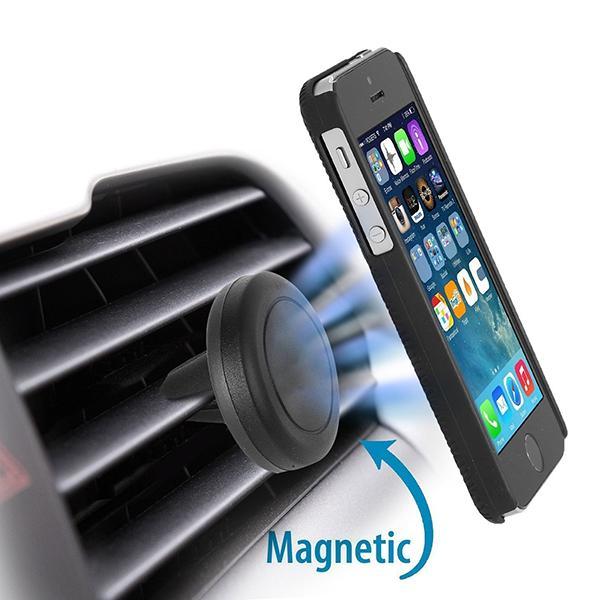 U-Grip Universal Magnetic Car-Vent Smartphone Mount Phone Holder Dock GPS Device Bracket