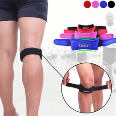 Knee Support Strap for Pain Relief Knee Brace Patella Tendonitis Adjustable Knee Patellar Knee Pads black Adjustable