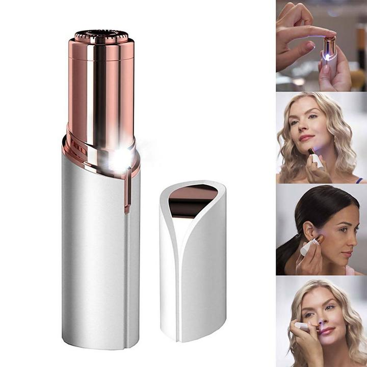 Flawless Women's Painless Light Hair Removal Epilator Ladies Shaving Trimmer Device White one size