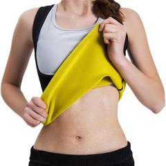 Women Body Shaper Slimming Sauna Neoprene Vest - Waist Trainer Corset black M