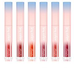 Fashion 6 Colors Waterproof Long Lasting Lip Gloss 6 colors