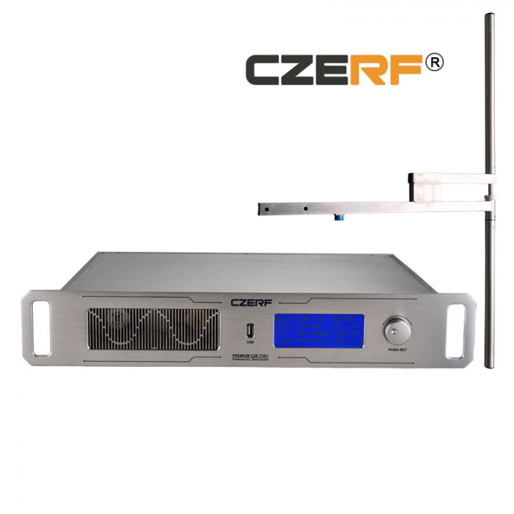 KiliFun Collection CZERF BRAND 1KW1000w transistor L29 RF output wireless 20km fm transmitter
