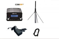 KiliFun Collection CZERF BRAND FM Transmitter for Radio Station with Extractable antenna kit
