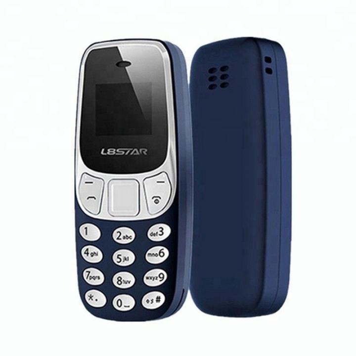 KiliFun Collection BM10 Mini Light Dual Sim Bluetooth Classic Mobile/Cell Phone Long Lasting Blue