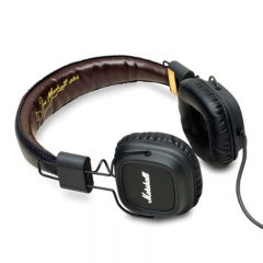 KiliFun Collection Major Marshall Brand Headset /Headphone Wired Control Bass Beats brown