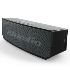 KiliFun Collection BS-5 Bluedio Brand 3D Surround Effect Hifi Stereo Bass Wireless Speaker Black