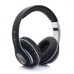 KiliFun Collection V33 Sports Wireless Bluetooth Headphone FM Stereo Bass Beats Radio MP3 Player black
