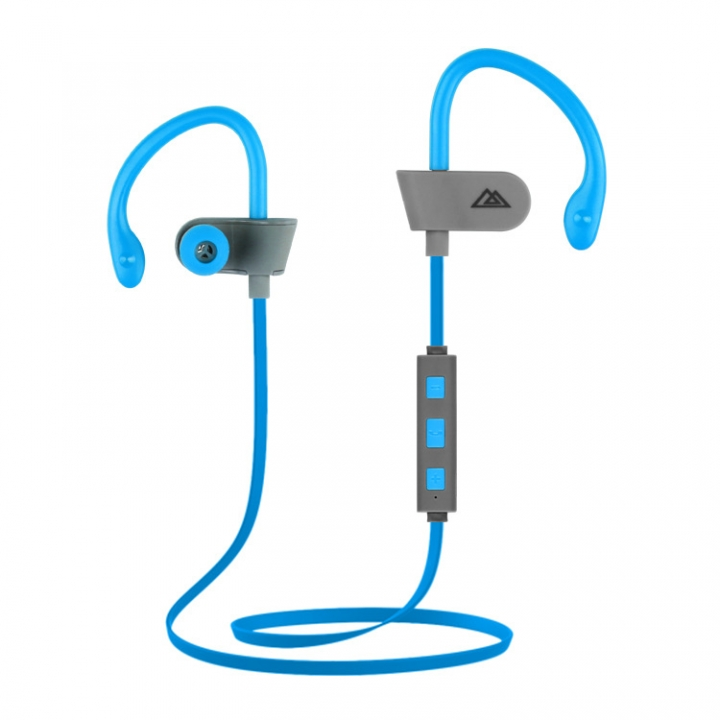 KiliFun Collection E260 Sports Wireless Earphone Bluetooth Stereo Music Control blue