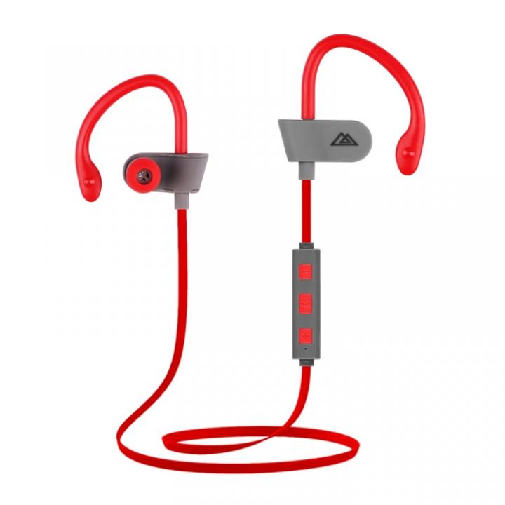 KiliFun Collection E260 Sports Wireless Earphone Bluetooth Stereo Music Control red