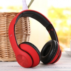 KiliFun Collection TUCCI Brand TC999 Sports Wireless Bluetooth Headphone Stereo Bass Beats MP3 red
