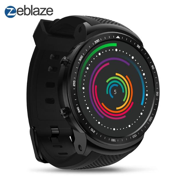 KiliFun Collection Zeblaze Brand Thor PRO Smart Watch 2.0 MP Camera Heart Rate Monitor Smart Watch black one size