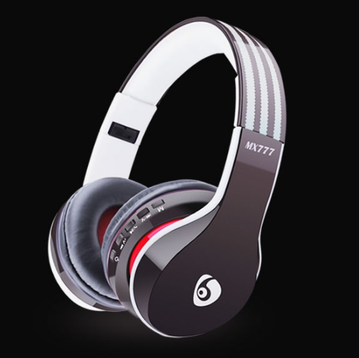 KiliFun Collection TUCCI Brand TC777 Sports Wireless Bluetooth Headphone FM Stereo Bass Beats MP3 black