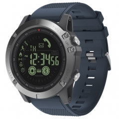 KiliFun Collection Zeblaze Brand VIBE3 Android IOS Bluetooth 33 Months Long Standby Smart Watch blue one size