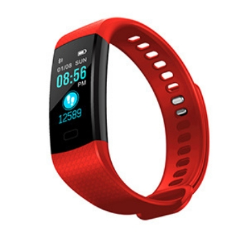KiliFun Collection Y5 Color Screen Smart Watch Sports Bracelet orange one size