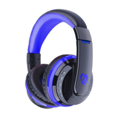 KiliFun Collection OVLENG Brand MX666 HIFI Wireless Bluetooth Headphone FM Stereo Bass Beats MP3 blue