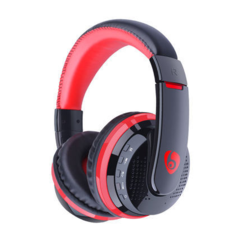 KiliFun Collection OVLENG MX666 Wireless Bluetooth Stereo Headset Headphone Support FM TF AUX red