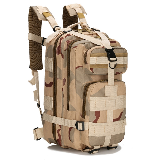 KiliFun Collection 3P Military Oxford Tactical Backpack Outdoor Sport Climb/Hiking Bag Color 1 3P