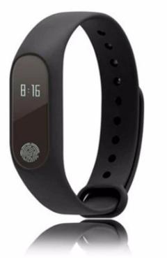 KiliFun Collection M2 Smart Healthy Recorder Bluetooth Waterproof Watch Band/Bracelet black one size
