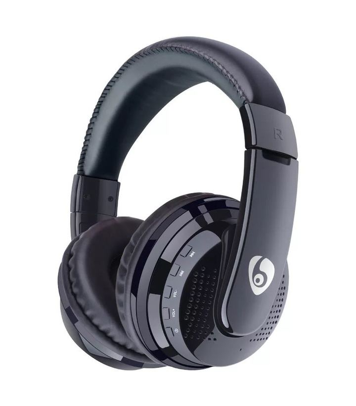 KiliFun Collection OVLENG MX666 Wireless Bluetooth Stereo Headset Headphone Support FM TF AUX black