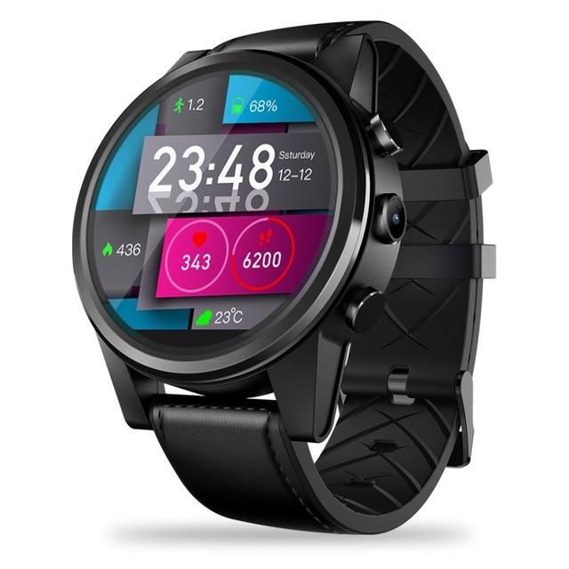 KiliFun Collection Zeblaze Brand THOR 4 PRO 4G LTE 1.6 inch IPS Crystal Display Smart Watch black one size