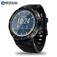 KiliFun Collection Zeblaze Brand THOR 4 Plus 4G GPS/GLONASS Quad Core 1G RAM+16G ROM Smart Watch black one size