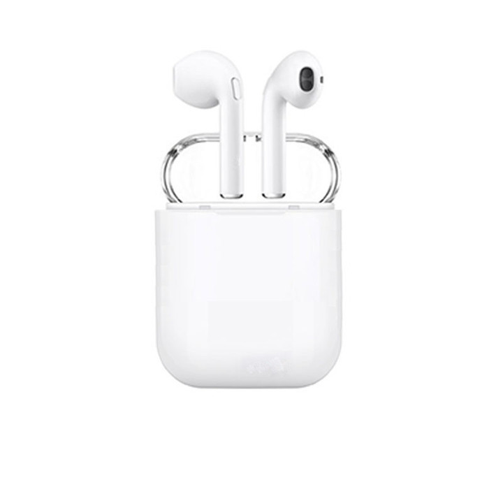 KiliFun Collection I8 TWS Mini Handfree Earphone Bluetooth Earpeices Stereo HiFi Music Earbuds white