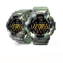 KiliFun Collection EX16M Camouflage Military Sports Waterproof Outdoor Multifunction Smart Watch Camouflage black one size