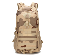 KiliFun Collection Military Tactical Oxford Camouflage Bag Outdoor Durable Tactical Backpack desert camo >30l