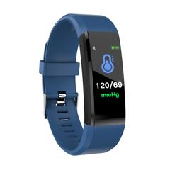 KiliFun Collection ID115 PLUS Color Screen Waterproof Fitness Smartwatch Wristwatch blue one size