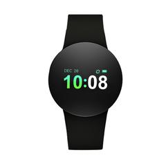 KiliFun Collection TOLEDA Brand D3 Plus Waterproof Heart Rate Blood Pressure Wristband Smart Watch black 0.96 Inches
