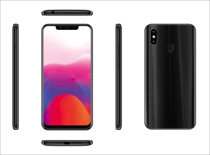 KiliFun Collection Meiigoo Brand S9 4GB+32GB Mobile 6.18 inch Android 8.1 Smartphone black