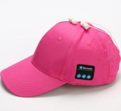 KiliFun Collection G7 Outdoor Sport Wireless Hat Music Baseball Earphone Cap Headset Cap+Set-in MIC Pink 58-62cm Round