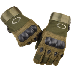 KiliFun Collection Outdoor Sports Military Tactical Airsoft Anti-slip Full Finger Gloves Gym green xl
