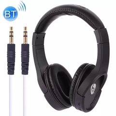 KiliFun Collection OVLENG Brand MX777 Bluetooth Wireless Stereo Headphone with TF Port/FM/AUX In One black