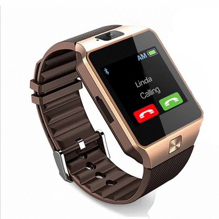 KiliFun Collection DZ09 Bluetooth Sport Wrist Smart Watch Phone For Android Golden One Size