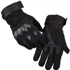 KiliFun Collection Outdoor Sports Military Tactical Airsoft Anti-slip Full Finger Gloves Gym black xl