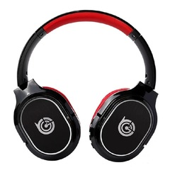 KiliFun Collection TUCCI Brand Deep Bass Bluetooth Wireless Headphone/Headset Mic/TF Card/Aux red with paper package