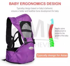 KiliFun Collection COOLBABY Baby Carrier Multifunctional Baby Hip Seat Kids 1 light blue two in one combination