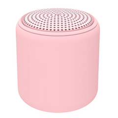 KiliFun Collection Portable Mini Speaker Wireless Bluetooth Colorful Inpod Outdoor Sports pink One size