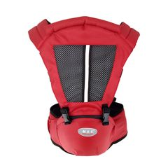 KiliFun Collection COOLBABY Multifunctional Baby Hip Seat/Backpack/Front Facing Baby Carrier Red Two in One Combination