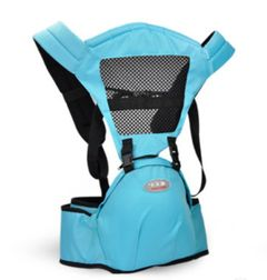 KiliFun Collection COOLBABY Multifunctional Hip Seat/Backpack/Front Facing Baby Carrier light blue two in one combination