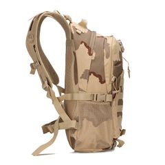 KiliFun Collection Military Tactical Oxford Camouflage Bag Outdoor Durable Tactical Backpack desert camo 32*16*48cm