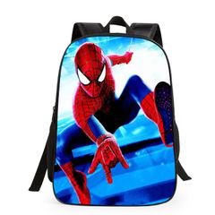 KiliFun Collection New Style Batman Spiderman School Bag For Kids Backpack Spiderman