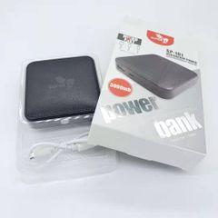 KiliFun Collection TITAN SP-101 Power Bank Truly 5000mAh Fast Charging Black 5000mah
