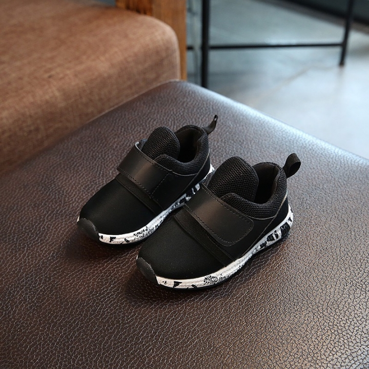 Children shoes girls trainers Breathable Mesh sneakers flat Kids shoes boys shoes baby kinds black 27