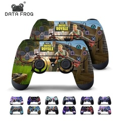 Data Frog 2 Pcs Fortnite Sticker For Sony Game  Stickers Decal Vinyl For Fortnite Game 1 Fit for Sony PS4 Controller Package Content 2 x c